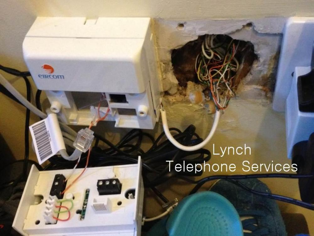 medium resolution of lynch telephone services image gallery work we have completed on wiring diagram eircom phone socket