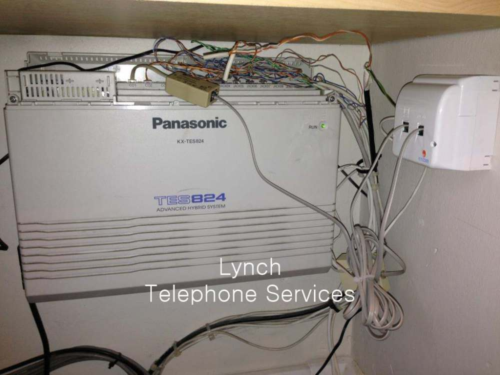 medium resolution of  messy telephone pabx wiring