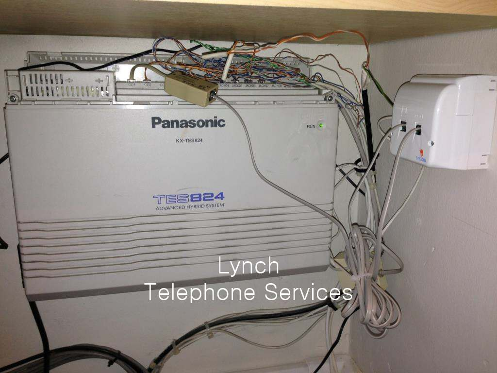 hight resolution of  messy telephone pabx wiring