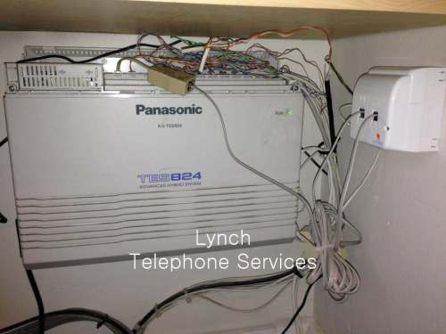 small resolution of  messy telephone pabx wiring