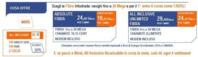 fisso adsl infostrada fibra + wind privato 03_04 2016