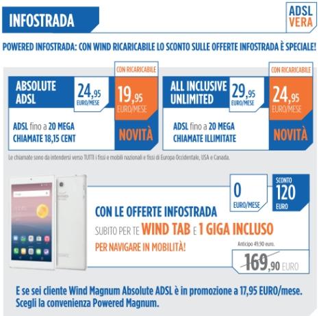 INFOSTRADA ADSL FEBBRAIO MARZO