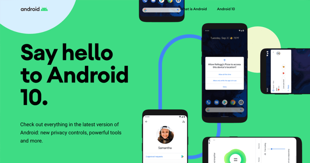 android 10 2019