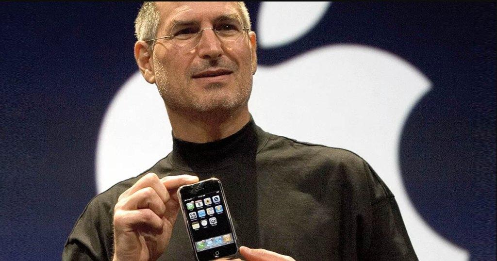 steve jobs iphone 2007 presentation