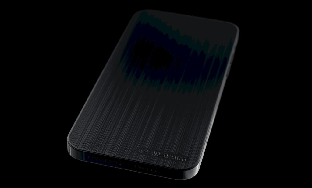 Caviar supprime les caméras de liPhone 12 Pro pour le rendre furtif 3