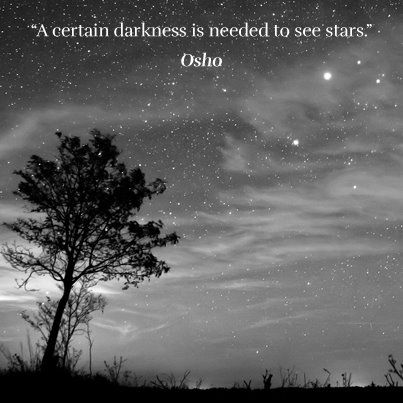 Osho - a certain kind of darkness
