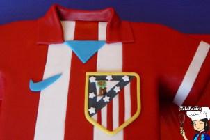 Tarta Camiseta Atlético de Madrid