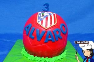 Tarta Balón Atlético de Madrid