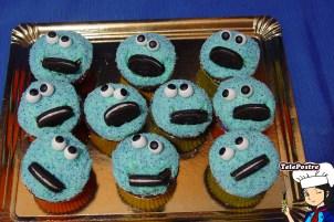 Cupcake El Monstruo de las Galletas