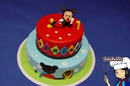 Tarta Fondant Mickey
