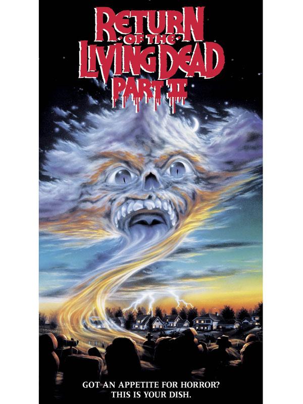 Le Retour Des Morts-vivants 2 : retour, morts-vivants, Retour, Morts, Vivants, Wiederhorn, (1987), épouvante,, Horreur