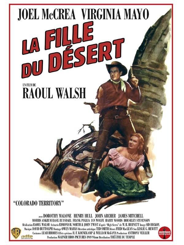 La Fille Du Désert Film : fille, désert, Fille, Désert, Raoul, Walsh, (1949), Western
