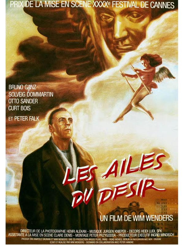 Bruno Ganz Les Ailes Du Désir : bruno, ailes, désir, Ailes, Désir, Wenders, (1987), Fantastique