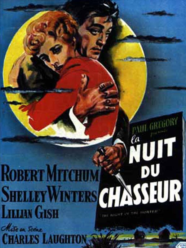 La Nuit Du Chasseur Film : chasseur, Chasseur, Charles, Laughton, (1955), Thriller