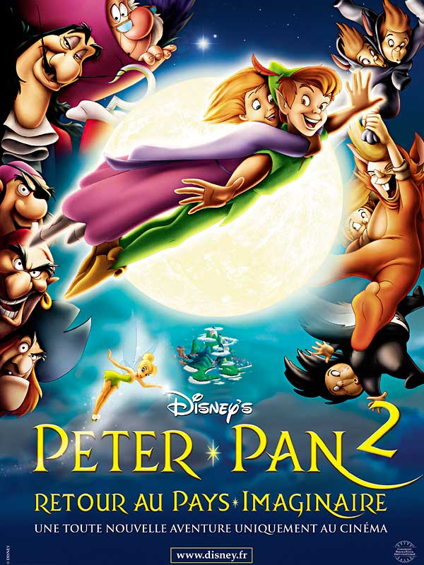 Peter Pan Noel Au Pays Imaginaire : peter, imaginaire, Peter, Retour, Imaginaire, Robin, Budd,, Donovan, (2002), D'animation