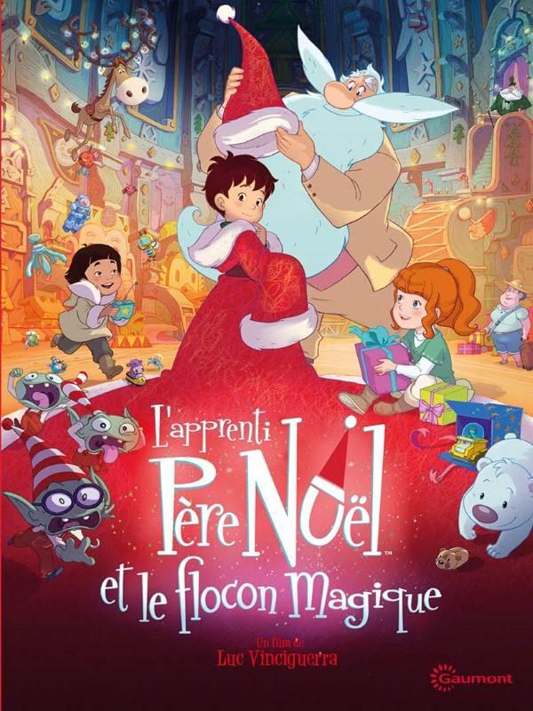 L'apprenti Père Noël Et Le Flocon Magique : l'apprenti, père, noël, flocon, magique, L'apprenti, Père, Noël, Flocon, Magique, Vinciguerra, (2013), D'animation