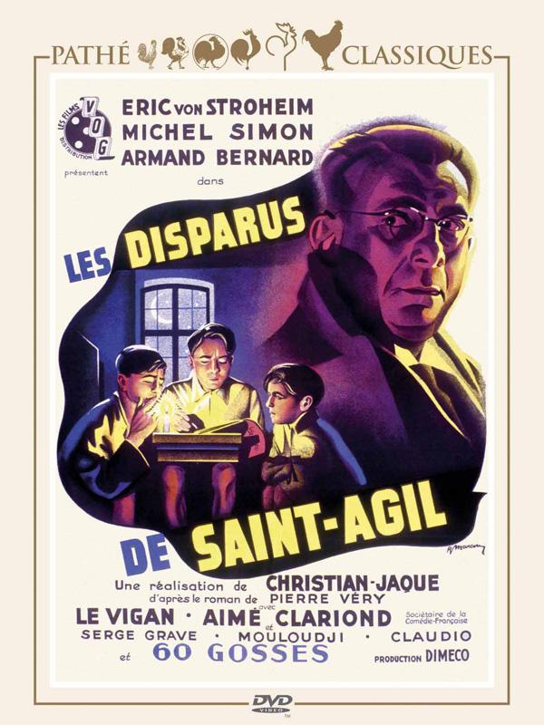 Les Disparus De Saint-agil : disparus, saint-agil, Disparus, Saint-Agil, Christian-Jaque, (1938), Policier