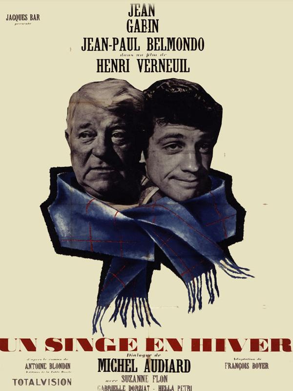 Film Un Singe En Hiver : singe, hiver, Singe, Hiver, Henri, Verneuil, (1962), Comédie, Dramatique