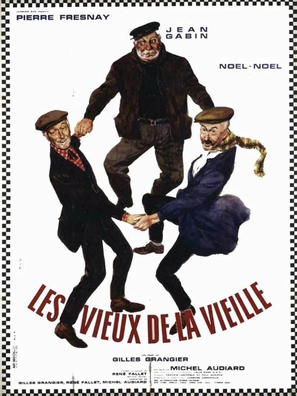Les Vieux D La Vieille : vieux, vieille, Vieux, Vieille, Gilles, Grangier, (1960), Comédie