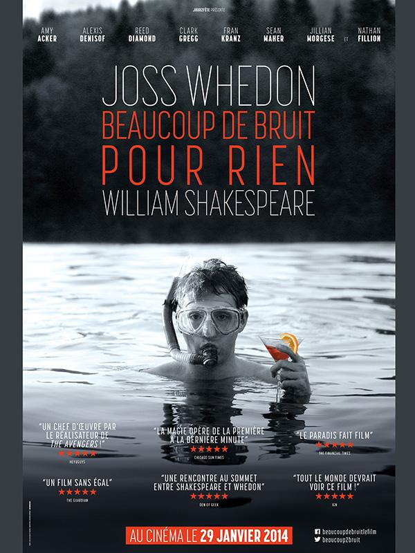 Beaucoup De Bruit Pour Rien Film : beaucoup, bruit, Beaucoup, Bruit, Whedon, (2012), Comédie