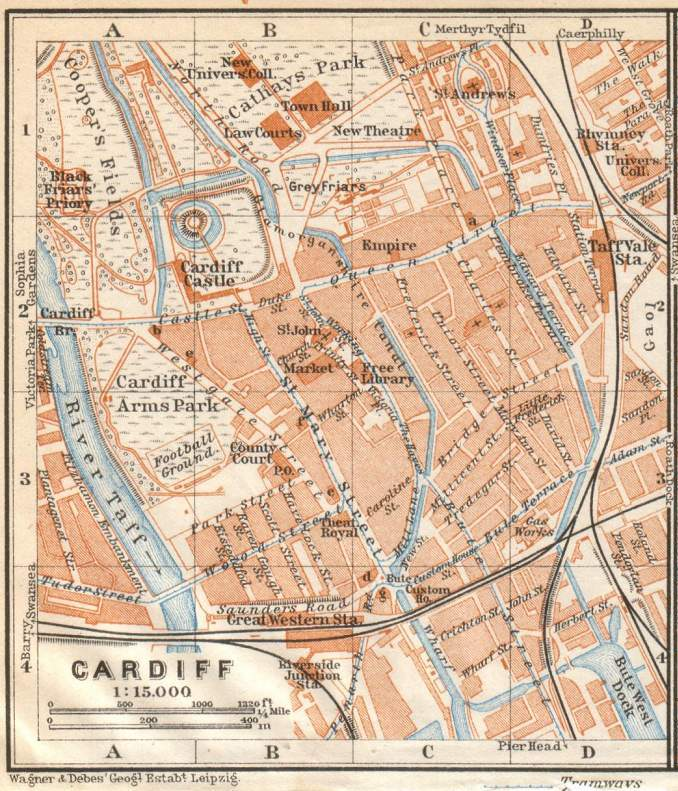 bridgend maps google