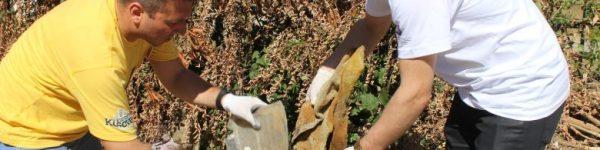 """Pak qytetarë morën pjesë në aksionin për pastrimin e lagjës """"Mati 1"""""""