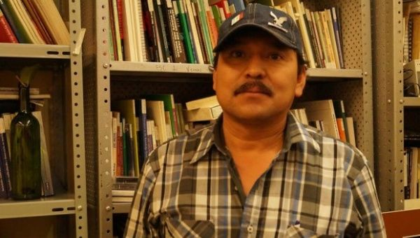Mario Luna, Yaqui activist in the Mexican state of Sonora fighting for water rights. (Photo: RevolucionTresPuntoCerto)