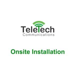 Teletech Communications onsite installation
