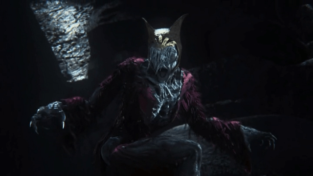 a screencap of a cgi maleficent lych