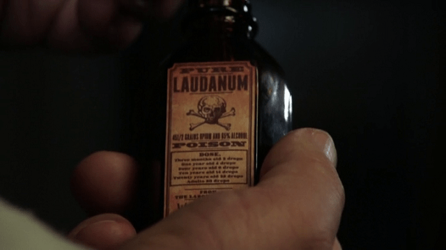 a screencap of laudanum, a tincture of opium