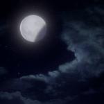 a screencap of a lunar eclipse