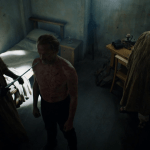 jorah mormont (played by iain glen) is completely cured of greyscale