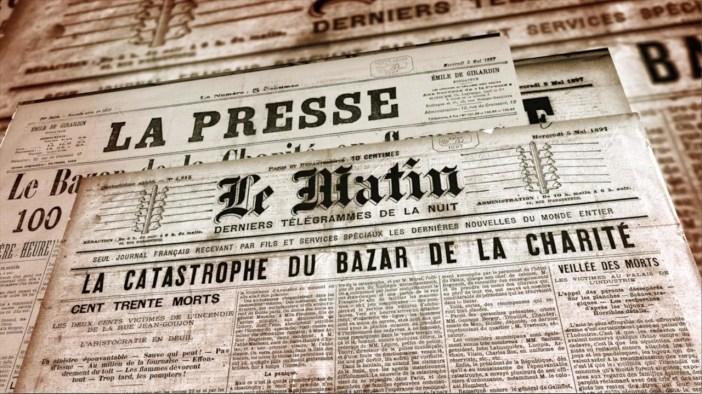 La tragique histoire de l'incendie du Bazar de la Charité