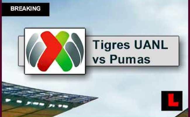 Tigres Uanl Vs Pumas Unam 2015 Score En Vivo Updates Liga