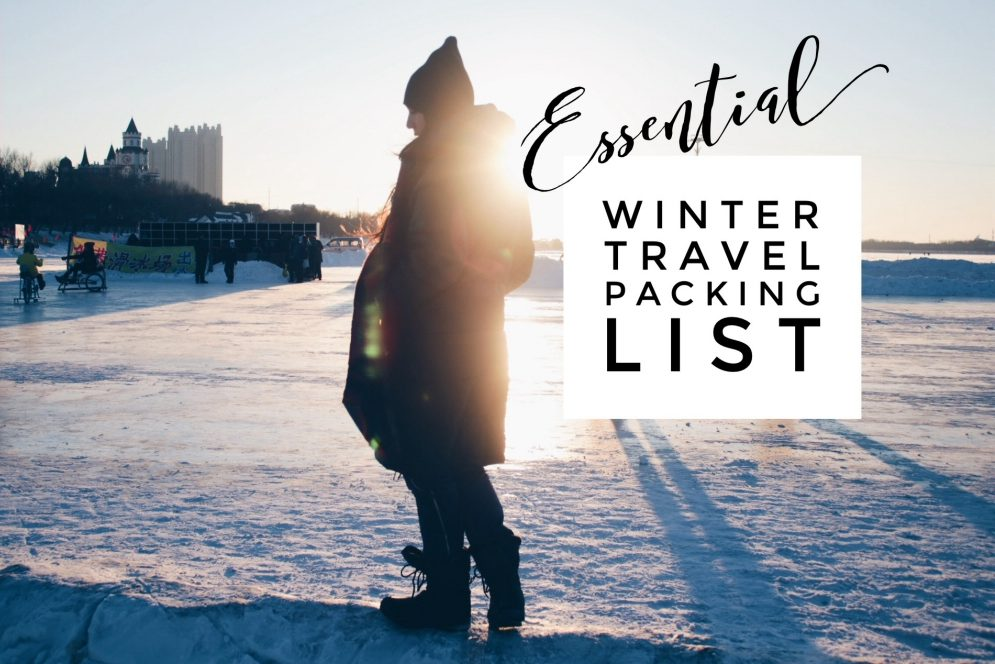 Essential Winter Travel Packing List For Subfreezing Temperatures Television Of Nomads