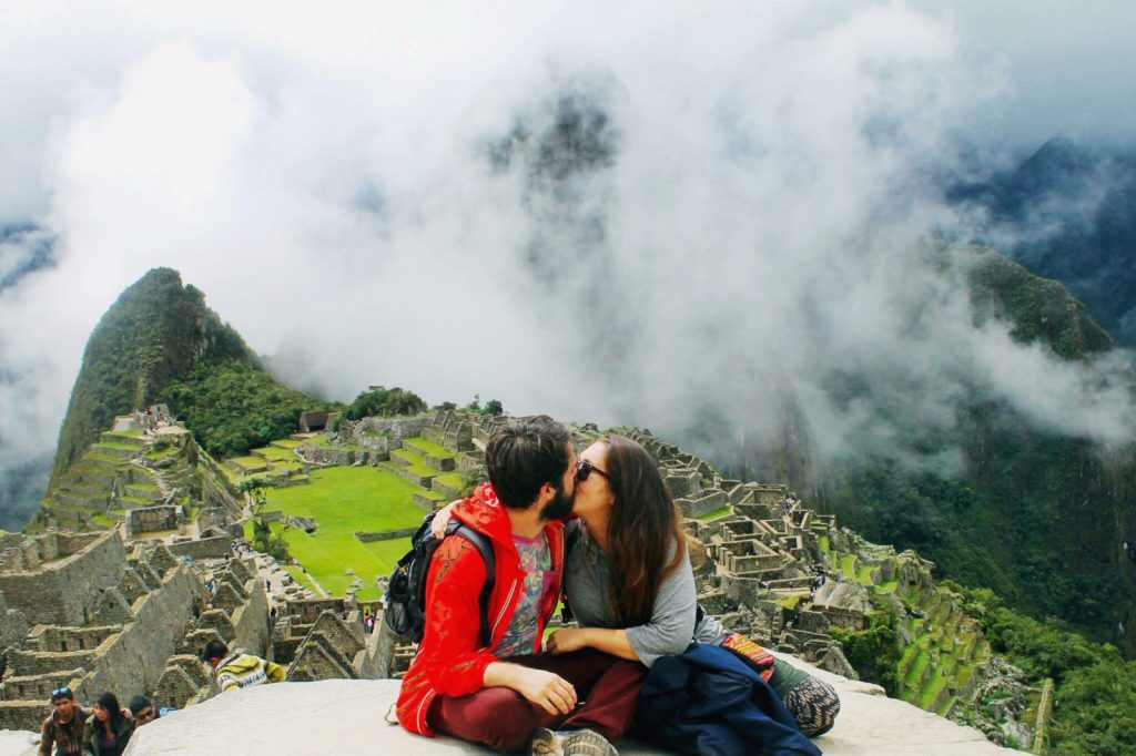 Traveling to Machu Picchu, Peru