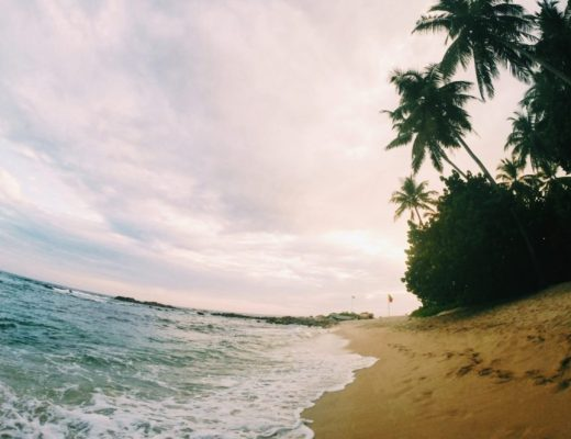 Mirissa's Secret Beach in Sri Lanka
