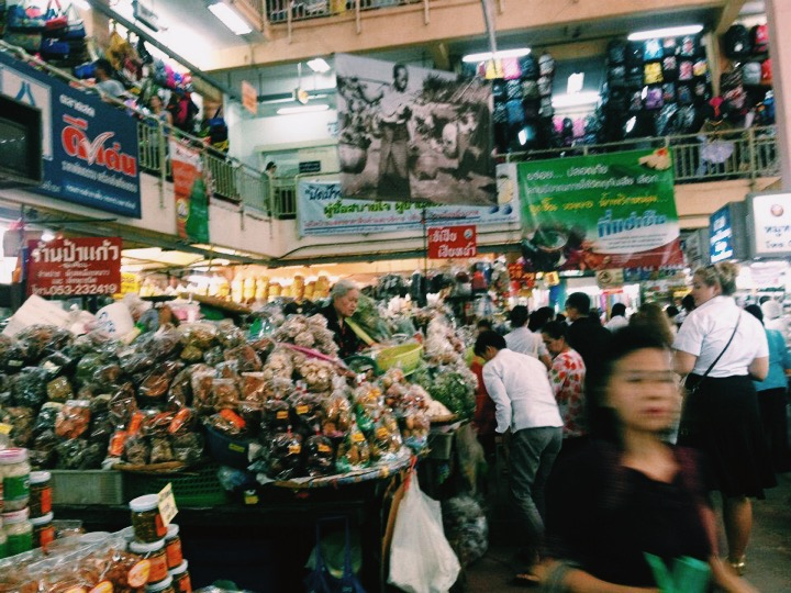 Warorot Market in Chiang Mai, Thailand