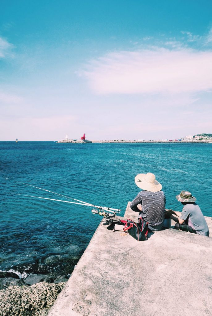The Fishermen of Iho Beach, Jeju Island