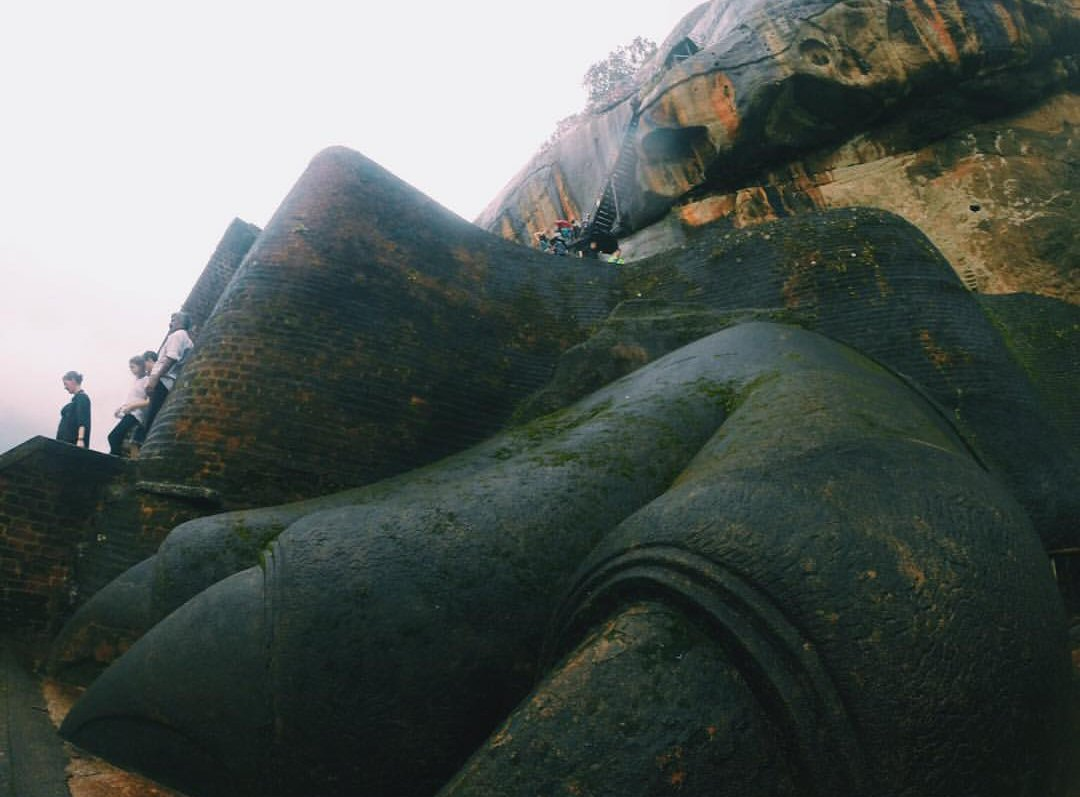 Lion Rock: Sigiriya, Sri Lanka