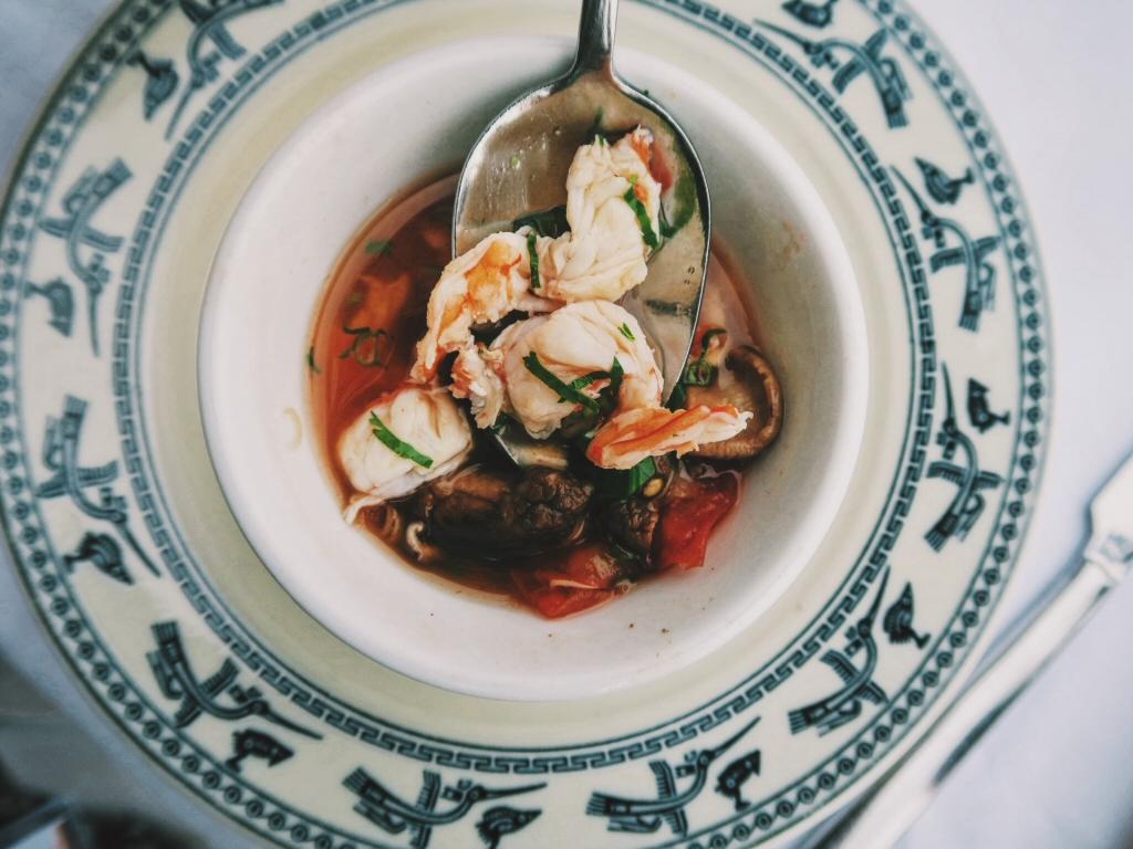 Canh Chua Tôm - Vietnamese sour shrimp soup