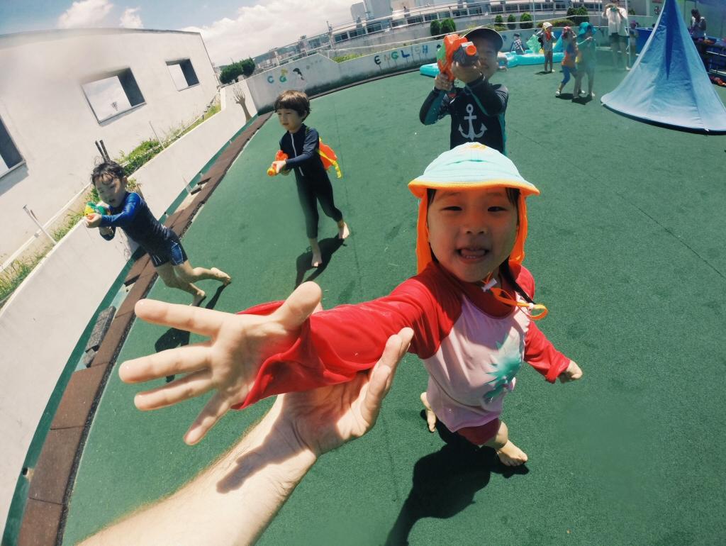 Water Fun Day at our Hagwon