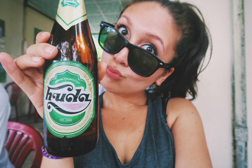 Vietnamese beer - Huda