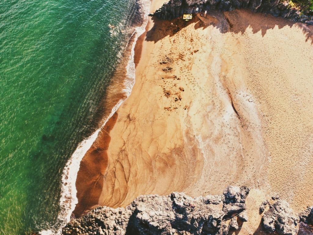 Jeju Korea Hwasun Beach