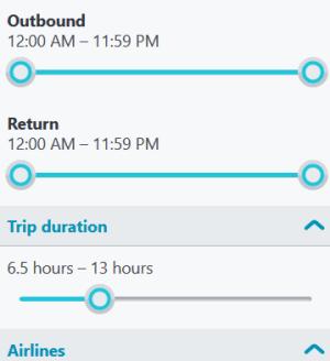 Trip duration