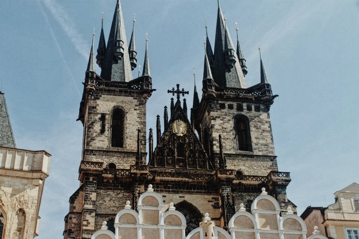 Church of our Lady Before Tyn, Old Town Prague, Czech Republic