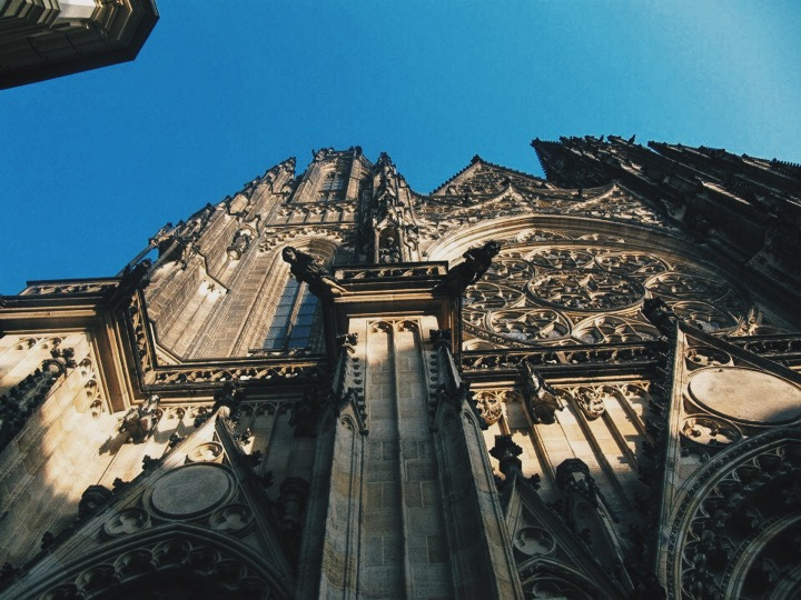 Gothic Prague Sights: St. Vitus Cathedral