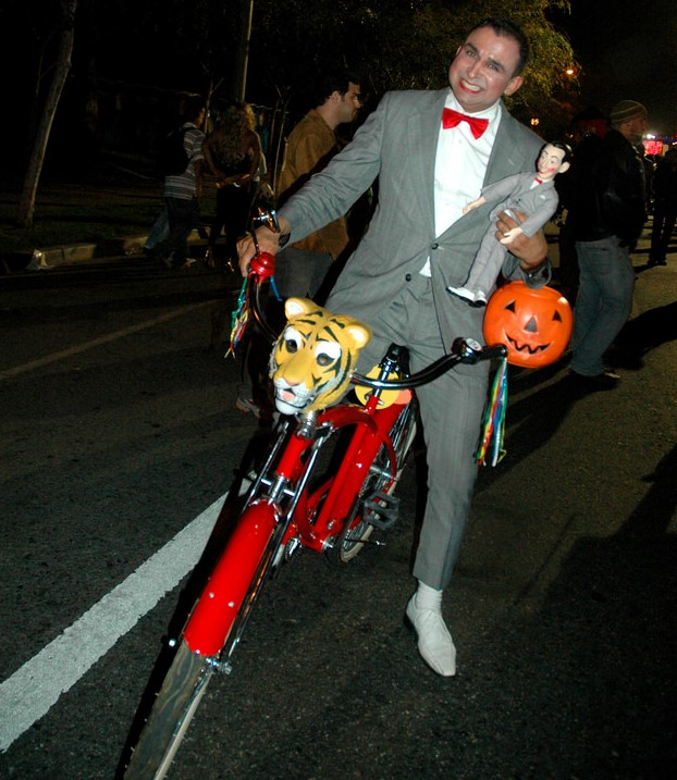 PeeWee Herman at WeHo Halloween Festival