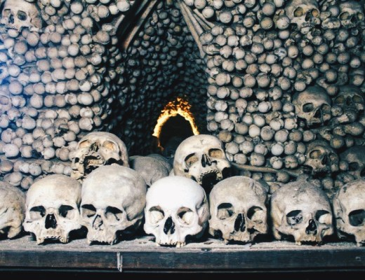 Sedlec Ossuary (Bone Church) in Kutna Hora, Czech Republic