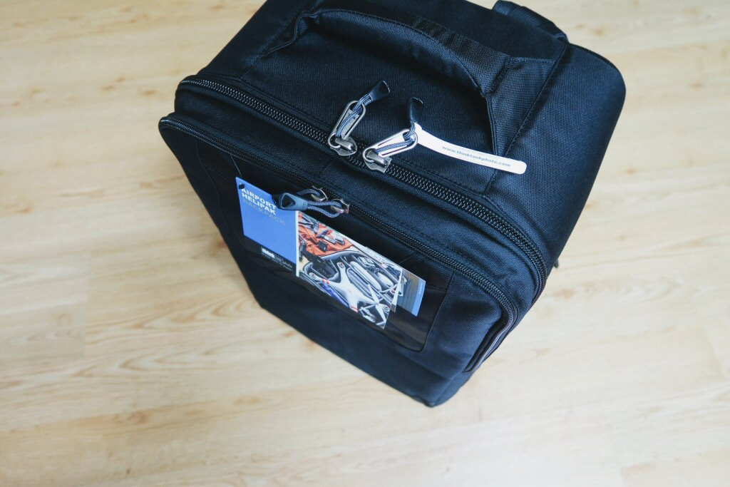 Think Tank Drone Bag top